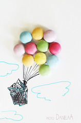 up (*ameLIE*) Tags: food cloud white house hot color love film home me up kids clouds vintage balloons movie creativity idea fly flying casa kid funny nuvole candy sweet drawing pastel air cartoon balloon creative dream disney confetti fantasy smarties cielo pixar mind fantasia animation hotairballoon draw walt colori amore disegno mongolfiera palloncini sogno matite disegnare volare caramelle animazione cartone pastello swy animato