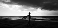 . (Mario M.) Tags: portrait woman storm silhouette nude