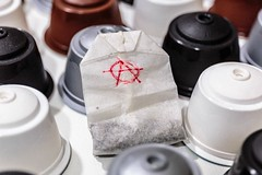 Rebel Bag (juanjux) Tags: macro coffee bag tea anarchy 6d macromondays