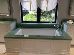 (Haifa Limestone) Tags: green bathroom bathrooms bathtub haifa seaglass bathtubs completedjob haifaproject completedjobs haifalimestone