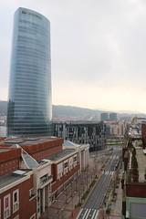 Bilbao - día vista hacia la calle Lehendakari Leizaola (Towner Images) Tags: street city urban calle spain bilbao vista basque kalea iberdrola towner townerimages lehendakarileizaola