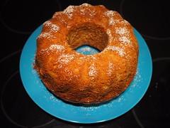 Marzipan-Apfel-Kuchen, 02-04-16 (schroettner) Tags: vegan marzipan kuchen gugelhupf pfel guglhupf veganhomemade veganerkuchen veganekuchen