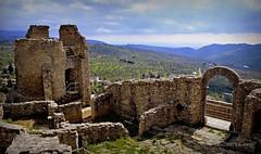 Castello Di Cleto Cs (Arcieri Saverio) Tags: sky italy castle landscape nikon 1855mm nikkor calabria mediaeval cosenza cleto d5100