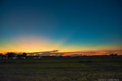 Atardecer en Taraguy (Carlos E Corts Parra) Tags: sunset landscape atardecer paisaje bluehour horaazul