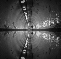 Helter Skelter (vulture labs) Tags: street reflection london art underground photography fine tunnel vulturelabs