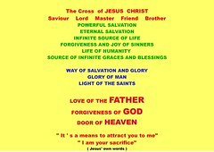 the cross of Jesus meaning-page-001 (Michele Lamberti) Tags: christ cross 33 jesus why 88 salvation powerful 44 crucified 2016