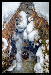 MOUNTAINS & SNOW '16 (EnzoLopardoPictures) Tags: longexposure schnee winter snow mountains water wasser streetphotography berge steine bach handheld brook swissalps stmoritz langebelichtung schweizeralpen enzolopardo