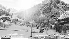 Staffal (Luciano Fochi) Tags: blackandwhite italy sun snow ski cabin monterosa freshsnow valledaosta gressoney