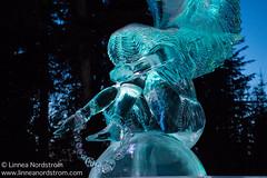 Ice Art - Sad Angel