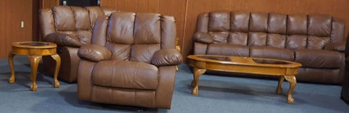 Berkline Leather Sofa & Loveseat - $1375.00 (Sold October 9, 2015)