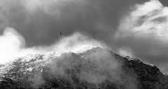 spring light-08838 (TB 5161) Tags: sky bw cloud mist mountain snow nature monochrome norway fog mono norge blackwhite outdoor sony natur bergen hordaland sn sne lvstakken noreg melkeplassen sonyslta77