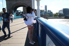 LONDON_010460 (Kira Dede, please comment my photos.) Tags: london stockings lingerie upskirt crossdresser 2015 kirad kiradede