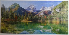 Majesty of the Mountains, Castorland, 4000 pieces (richieinnc) Tags: puzzle jigsaw 4000 castorland