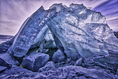 Ice Collision (Baron Reznik) Tags: ice nature horizontal landscape wideangle arctic greenland polar majestic  hdr otherworldly   colorimage kalaallitnunaat polarregion    canon14mmf28lii frigidzone  qeqqata  qeqqatakommunia  qeqqatamunicipality