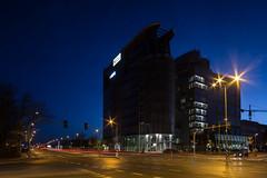 Marceliska (pedro4d) Tags: longexposure blue night nikon nightshot shift hour tilt ts d800 pozna 2435 samyang