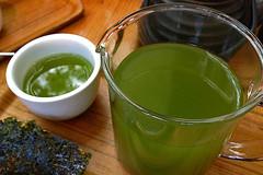 Samovar Tea Lounge - Green Tea (raluistro) Tags: sanfrancisco food tea drinks brunch yerbabuena samovartealounge