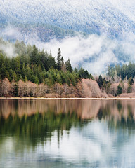 Visions of Us (John Westrock) Tags: trees lake reflection nature clouds calm pacificnorthwest washingtonstate northcascades canon135mmf2lusm canoneos5dmarkiii