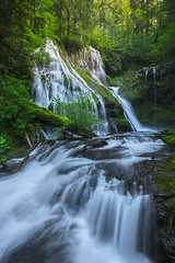 Panther (JustinPoe) Tags: west green creek river coast waterfall washington spring pacific northwest falls panther pnw