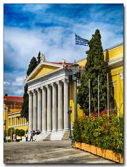 20080318_1246 (gabrielpsarras) Tags: tree monument downtown flag athens pole greece historical column marble zappeion  zappeio