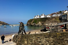 Port Isaac..... All Doc Martin fans know where this is (Seymour Travels Small Group Tours) Tags: travel light sea sky history britain villages guide seymour tours ports atmospheric