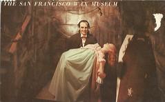 Count Wax Dracula (912greens) Tags: mannequins dracula creepy postcards wax museums figures vampires weirdstuff waxmuseums