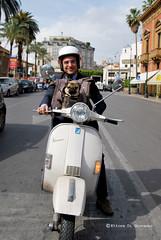 Carlino on bike (Ettore Di Giovanni) Tags: street friends dog cane nikon funny sigma di sicily 28 palermo sicilia giovanni 1850 carlino ettore