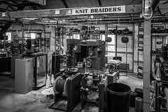 Outhwaite's Ropery (wayman2011) Tags: uk bw industry machinery canon5d ropes northyorkshire dales pennines workshops lightroom hawes wayman2011