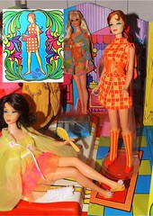 'COVERGIRL' (ModBarbieLover) Tags: casey mod doll stacey case 1968 tnt carry francie minichex