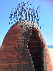 Manscape - Tony Davis (Figgles1) Tags: sea sculpture cottesloe sculpturebythesea sculptures img0744 iphone 2016 tonydavis manscape