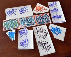 DSC_0324w (Portfoliosis) Tags: graffiti sticker stickers 228 handstyles slaps handstyle stickerpack calligraffiti stickertrade nakt stickertraders stickertrades