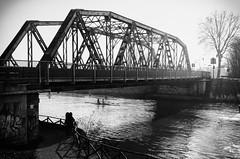 Ponte sullo Scaricatore (Angelo Aversa) Tags: street bridge bw italy nikon italia ponte padova d5100