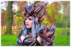 Elfia 2016 Haarzuilens Kasteel de Haar NL (M inspired by nature) Tags: costumes portrait people holland castle netherlands de photography costume cosplay outdoor hans fair elf fantasy portret eff haarzuilens kasteel the haar 2016 kostuum meulman elfia 23042016