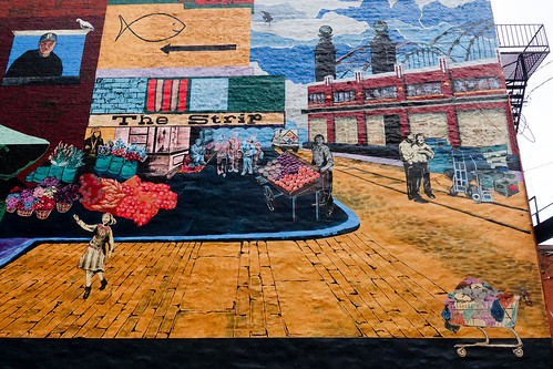 """""""The Strip Mural"""" by Carley Parrish and Shannon Pultz"""