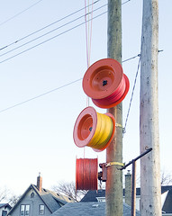 20160411POTD (Plonq) Tags: cord winnipeg rope pole wires roll poles spindle 2016yip