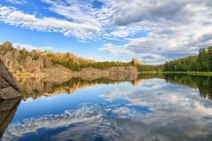 Sylvan Lake SD Color (jrcrespinphoto) Tags: camping lake reflection nature water southdakota outdoors hiking sd biking sylvanlake