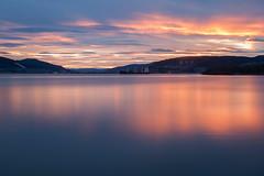 IMG_7257_ (Kristine Bergheim) Tags: longexposure blue sunset solnedgang drammen drammensfjorden engersand