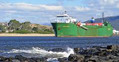 Searoad Mersey (AstroPenguin) Tags: boat ship cargo tasmania shipping roro imo devonport merseyriver bassstrait detnorskeveritas dnv searoadmersey searoadholdings 8914831 singmarine