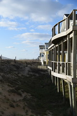 Beach Houses (E.Duthe) Tags: ocean lighting morning houses beach buildings virginia sand nikon dof natural outdoor dunes atlantic depthoffield d750 beachfront
