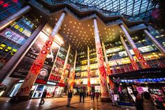 going to the mall (Rob-Shanghai) Tags: china leica mall shopping shanghai decoration cny m240 cv12mm