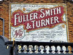 Union Tavern wall advert (Draopsnai) Tags: road brick wall advertisement woodfield wallsign kensingtonandchelsea uniontavern fullersmithandturner