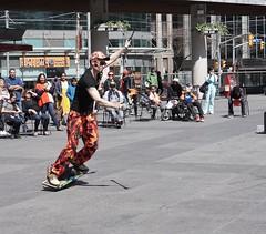DSC03962 (Moodycamera Photography) Tags: street toronto ontario set movie square downtown sony busker yonge juggler dundas strain a6000