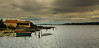 Villeneuve lès Maguelone ( Hérault- Languedoc Roussillon ) (Didier Gozzo) Tags: sky water clouds boats bateaux ciel nuages languedocroussillon hérault eaux midipyrénées villeneuvelesmaguelone