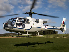 The Gazelle Squadron Display Team | Westland SA-341D Gazelle HT.3 | G-CBSI (Bradley's Aviation Photography) Tags: norfolk helicopter helicopters gazelle westland heli cromer northrepps gcbsi xz934 canon70d westlandsa341dgazelleht3 cromerairfield northreppsaerodrome thegazellesquadrondisplayteam x3cx