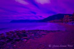 Spiaggia di Alassio (Liguria) (Gianni Armano) Tags: photo italia foto 21 liguria di aprile colori spiaggia gianni 2016 alassio savona armano