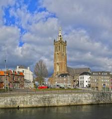 roermond rur Christoffelkathedraal _Panorama7 (seyjo) Tags: panorama church buildings river places location maas hdr roermond urbanscape historiccity rur dutchcity steenenbrug seyjo