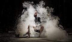 hipster entre nube de magnesio (noor.khan.alam) Tags: spain hipster espalda deporte fitness gym gimnasio olimpiadas barba tatuaje atletismo powerlifting msculos pesas olmpico fuerza culturismo sentidas crossfit halterofilia