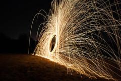 Light Painting (navidmaz) Tags: longexposure light art wool night painting photography photo dubai steel