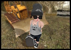 Gangsta Mustache with BoWillow, Foreign & KP (delisadventures) Tags: blue summer black sunglasses truck stars fun outdoors grey glasses spring scary construction toddler tank top grunge gray sl secondlife tiny tanktop second click mustache thug springtime leggings trinkets td tuck gansta gangstas mustach capris toddle slblog slfashion slbabe secondlifefashion slkids slevents secondlifeblog slfamily seconlifefashion slfashionblogger slfashions slbaby slfashionblog tinytrinkets slblogger secondlifefashionblog toddleedoo toddleedoos slfashin tweeneedoo slbog slfashino slblogg toddleddoo