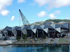 Terraced Cafe (mikecogh) Tags: architecture modern cafe crane wellington levels terraced