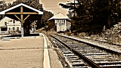 Sandwich, MA,  Rail Station (Liam Salt) Tags: railroad station train railway sandwich cape cod
